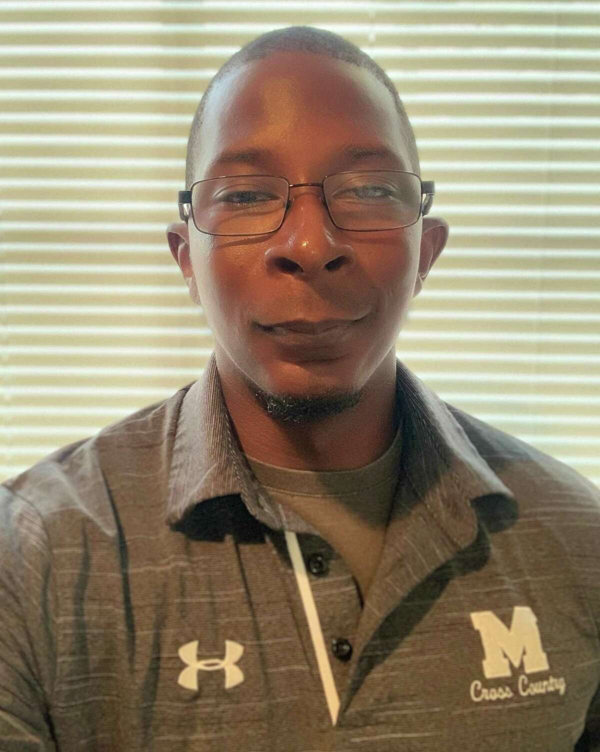 Magnolia cross country and girls track and field coach Marquis Bean.