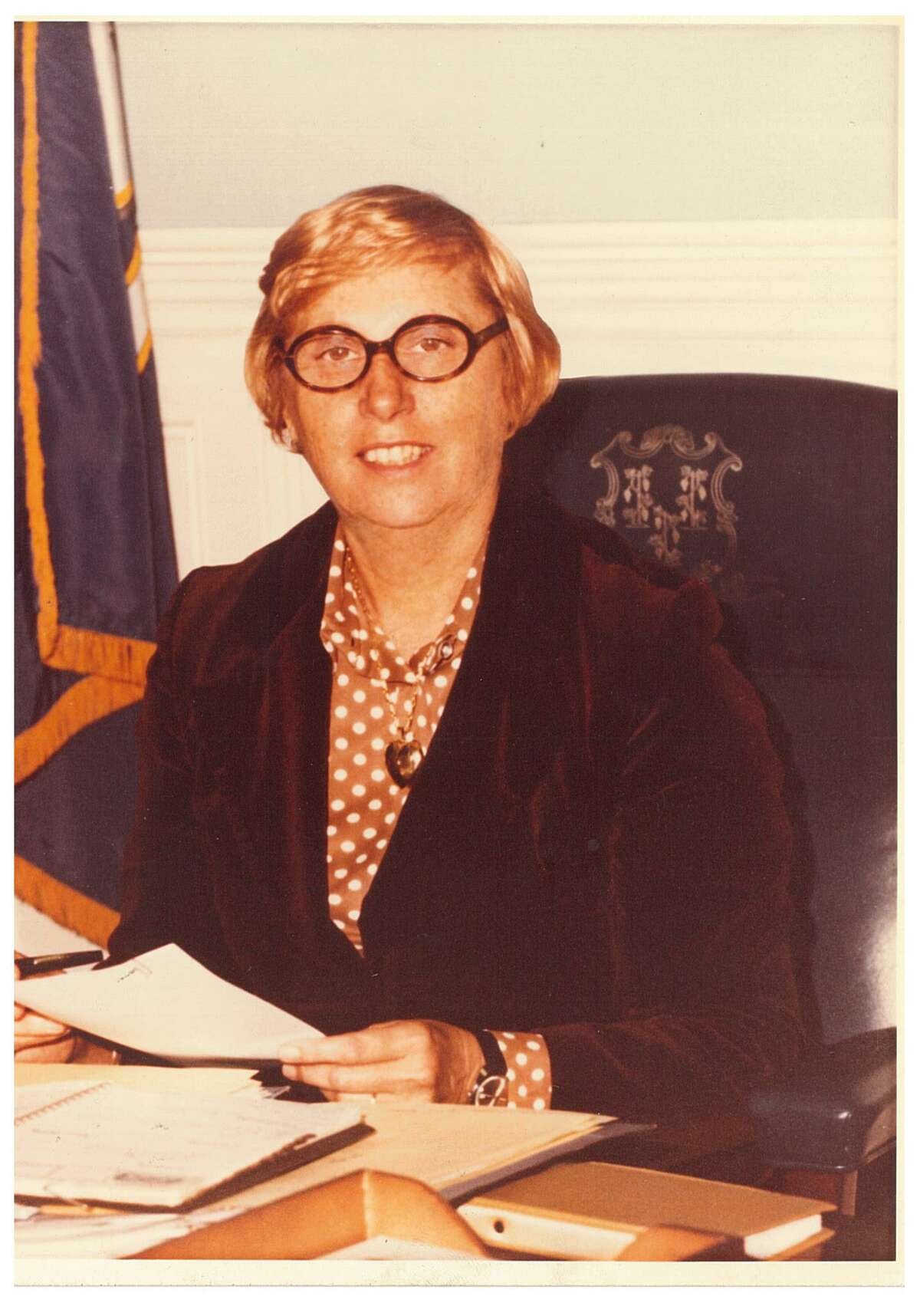 Connecticut Governor Ella Grasso served as Governor from 1975 to 1980.