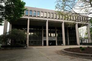 The Brien McMahon Federal Building, the Federal Courthouse in Bridgeport, Conn.