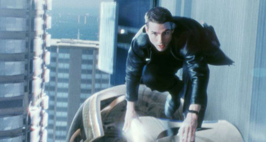 """Tom Cruise plays a Precrime police detective in """"Minority Report,"""" which is streaming on Pluto TV. Photo: ILM /20TH Century Fox / 2002 20TH CENTURY FOX AND DREAMWORKS"""