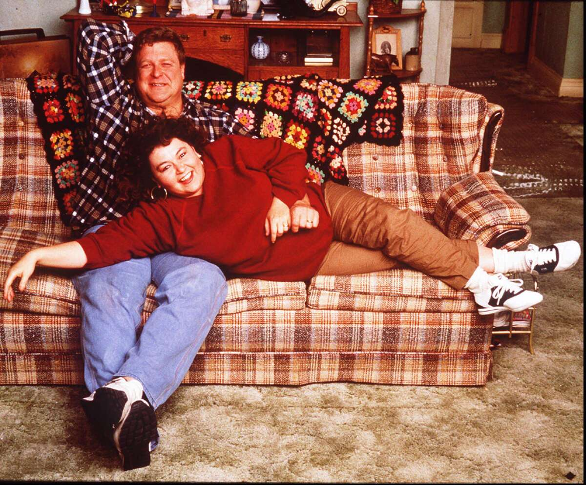 Roseanne Barr and John Goodman starred in the hit TV series