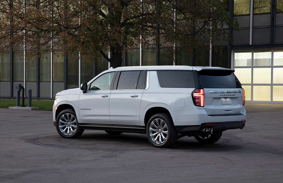 The Suburban (shown) and Tahoe will initially be available in LT, Z71, Premier and High Country trims, with LS and RST grades due later in the year. Photo: Chevrolet