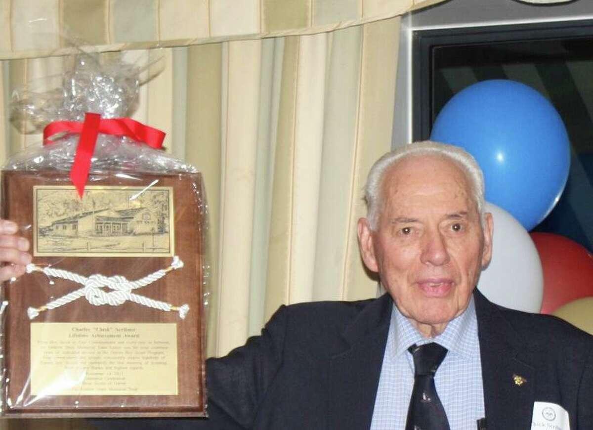 Charles Scribner, 96, lifelong Darien resident