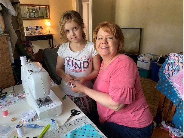 Klein Texas Stake church group donates masks to nonprofits, hospitals