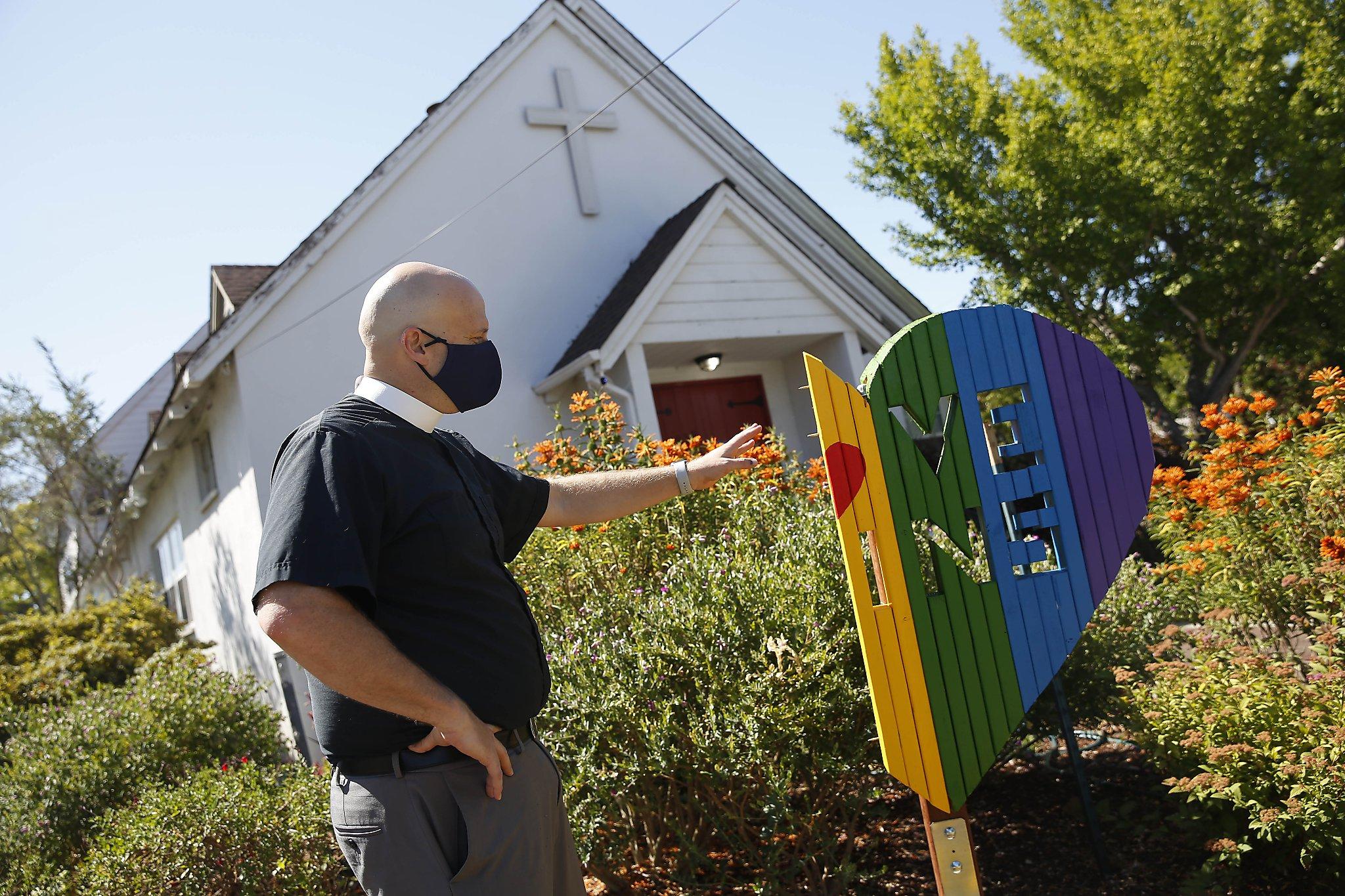 San Carlos minister uses divine inspiration, cameras to track anti-LGBTQ vandals