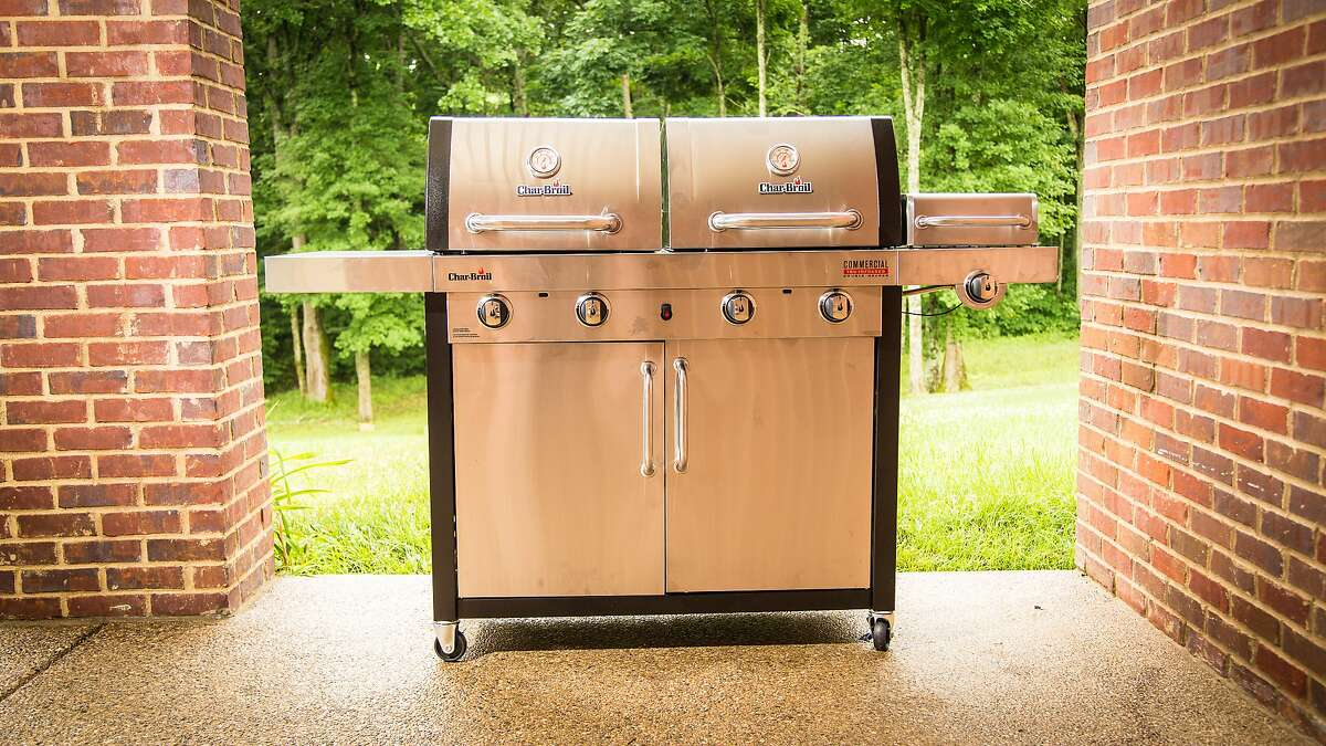Char-Broil Double Header