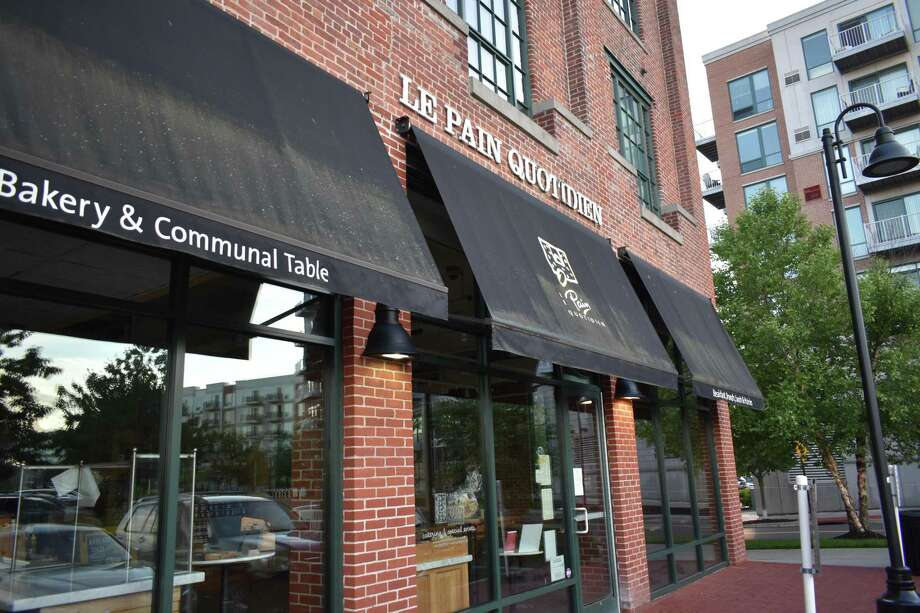 Le Pain Quotidien is shuttering permanently its Stamford, Conn. bakery in the city's South End, after reaching a June 2020 deal to be acquired out of bankruptcy by Aurify Brands. Photo: Alexander Soule/Hearst Connecticut Media / Hearst Connecticut Media