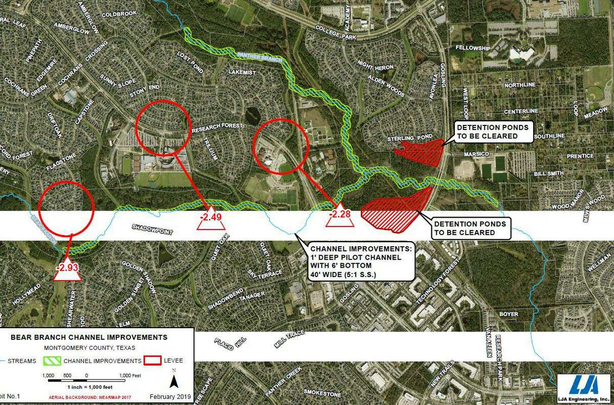 The Bear Branch Drainage Improvement Plan took another step forward in June, as the U.S. Army Corps of Engineers has given preliminary approval to the project's conceptual plans and local municipal utility disrict officials have applied for a preliminary grant to begin funding the project.