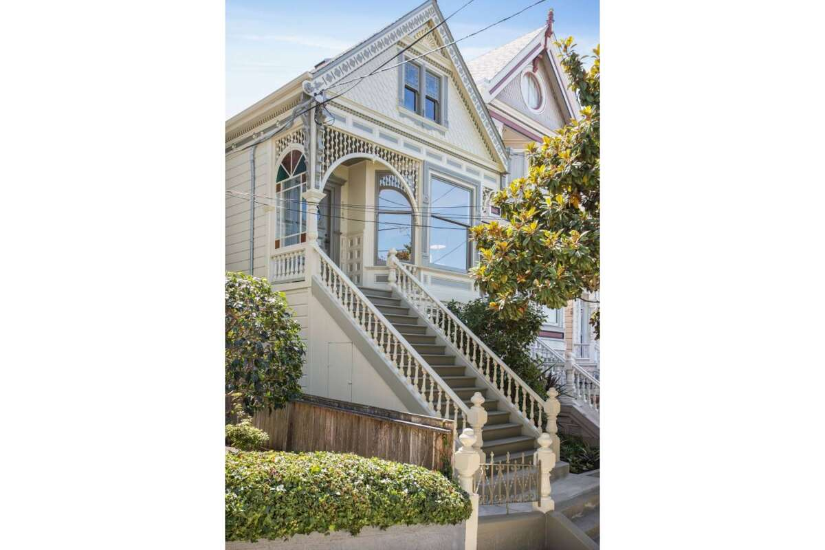 Built in 1896, the two-bedroom, 2.5-bathroom home has even been featured in a book on San Francisco Victorian architecture,