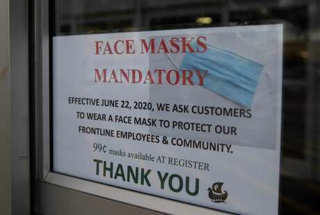 Gov. Greg Abbott issued an almost statewide order on Thursday, July 2, 2020, mandating the wearing of masks in public.
