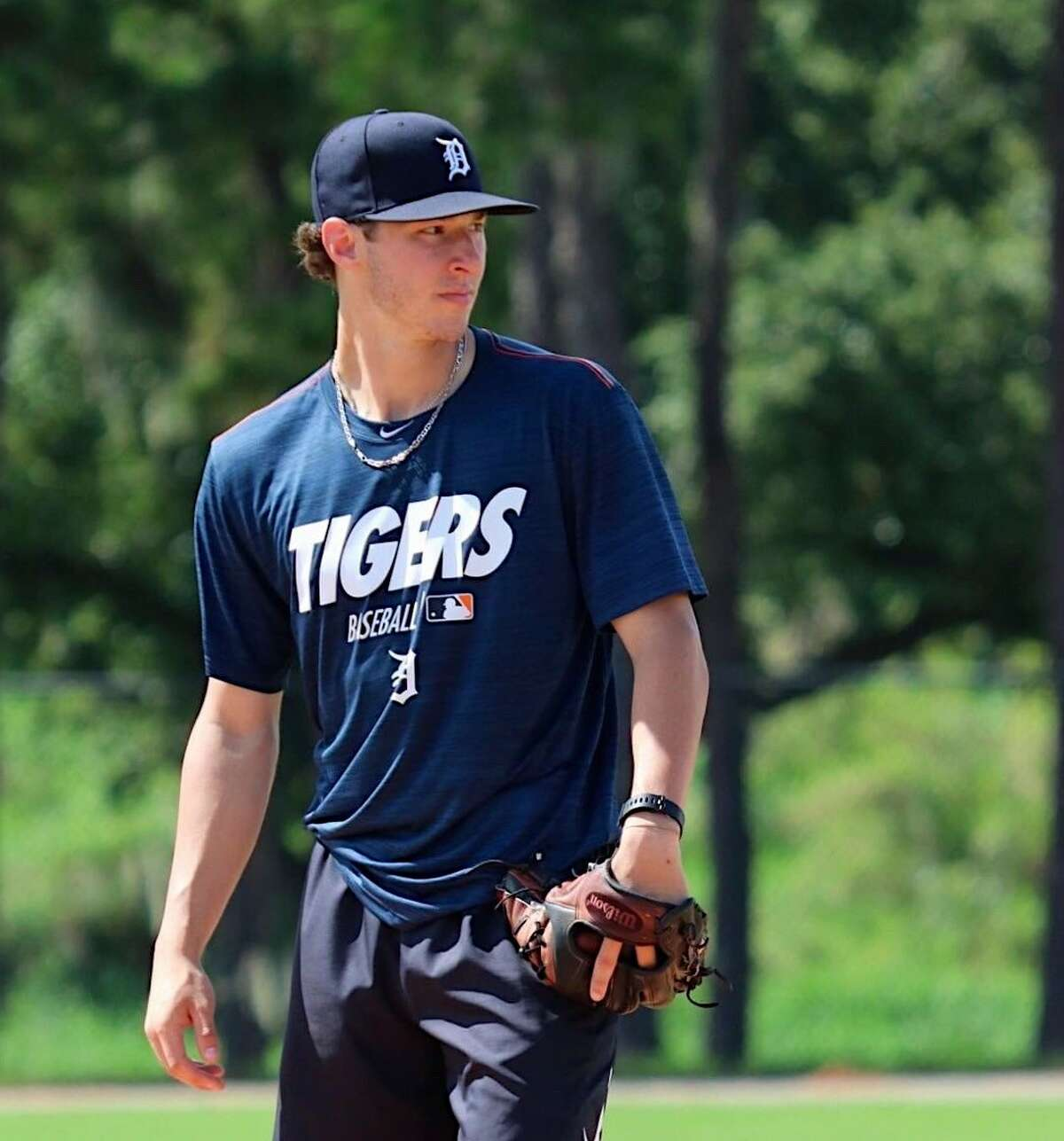 Brendan White was picked in the 26th round of the MLB draft in 2019. (Terri Nummer / Detroit Tigers Minor League Tracker
