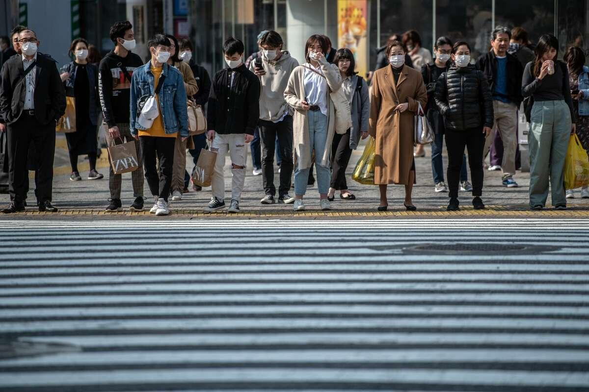 Tokyo, Japan on April 3, 2020.