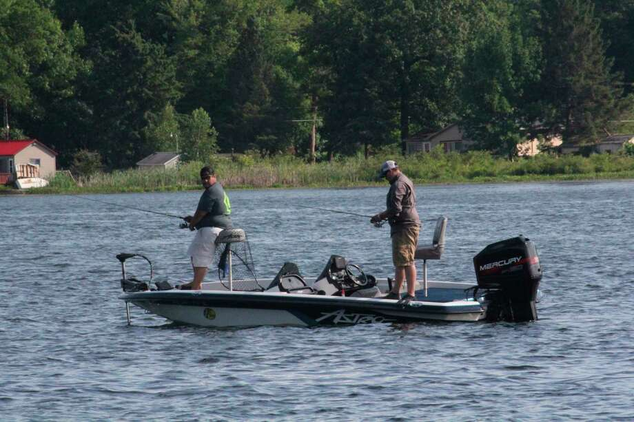 Anglers are being challenged by hot weather. (Pioneer file photo)