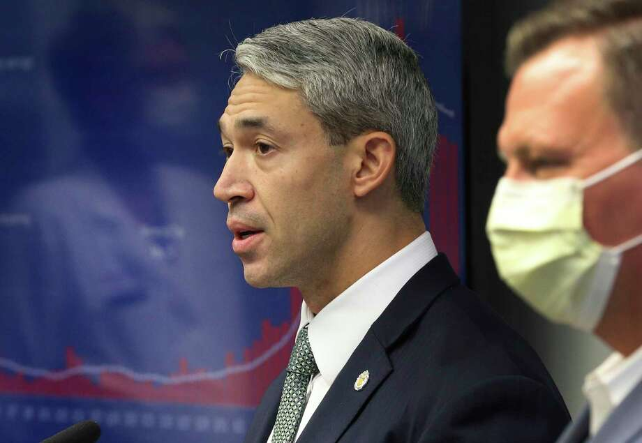 Nirenberg implored San Antonians to celebrate the Fourth of July this weekend at home and avoid a repeat of large Memorial Day gatherings that spread the coronavirus. Photo: Kin Man Hui /Staff Photographer / **MANDATORY CREDIT FOR PHOTOGRAPHER AND SAN ANTONIO EXPRESS-NEWS/NO SALES/MAGS OUT/ TV OUT