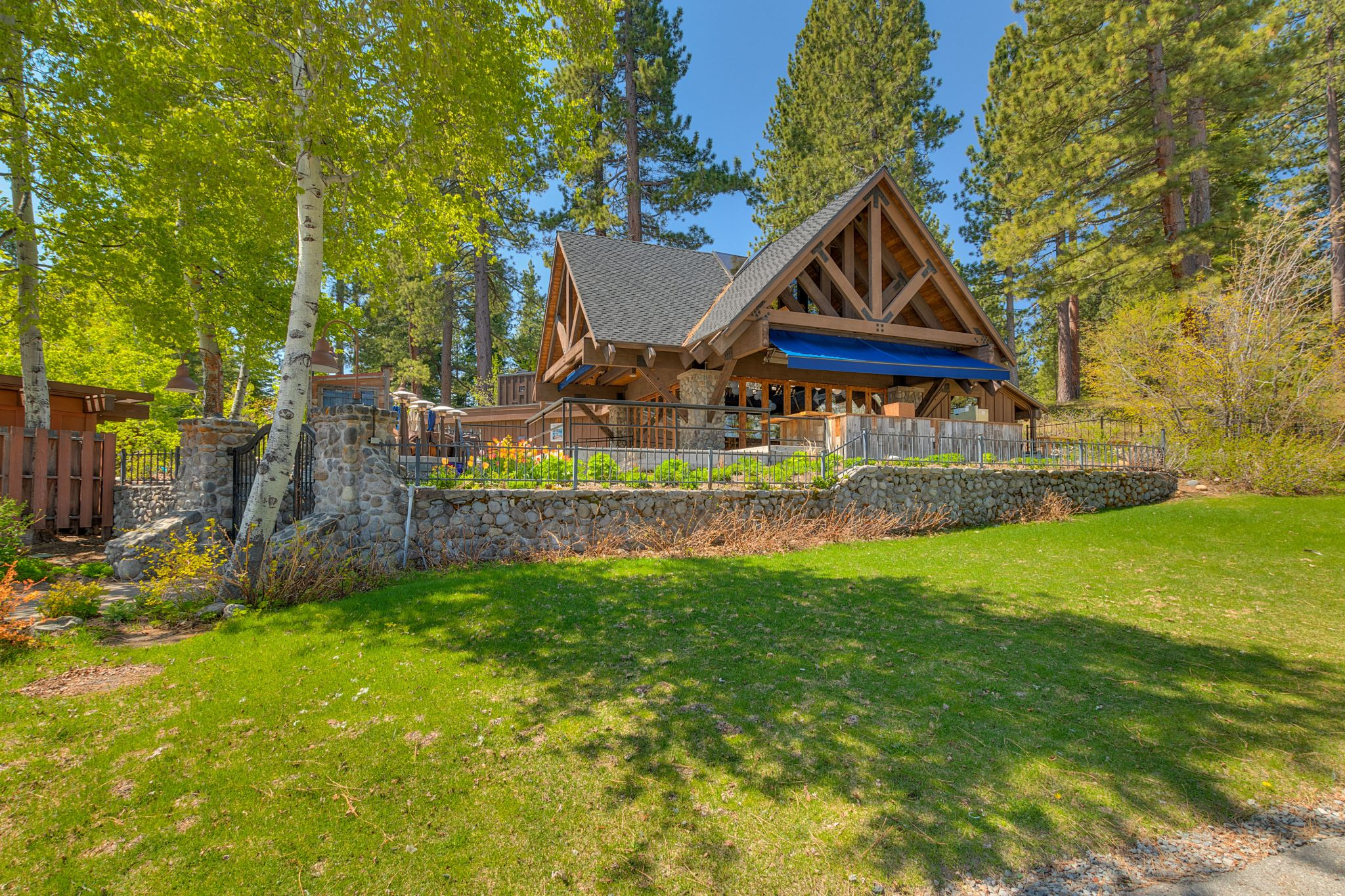What do a sunken whaling ship and a waterfront Tahoe cabin have in common? $4.250M abode has history and charm