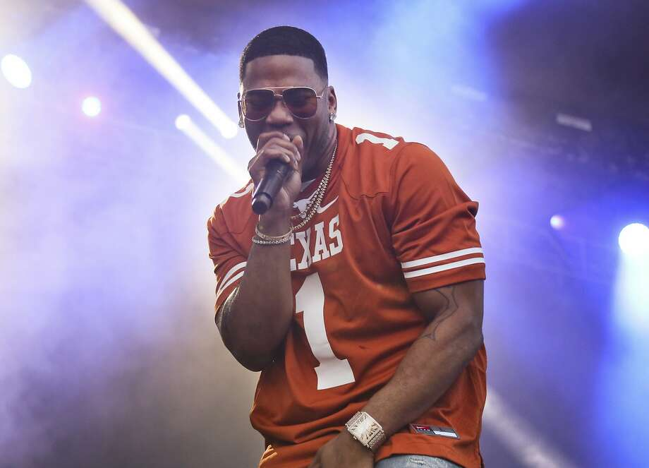 Live music will return to Texas later this month when a socially distanced concert unfurls across the state with hip hop and country stars taking the stage. Among the performers is Nelly. Photo: Jack Plunkett, Associated Press