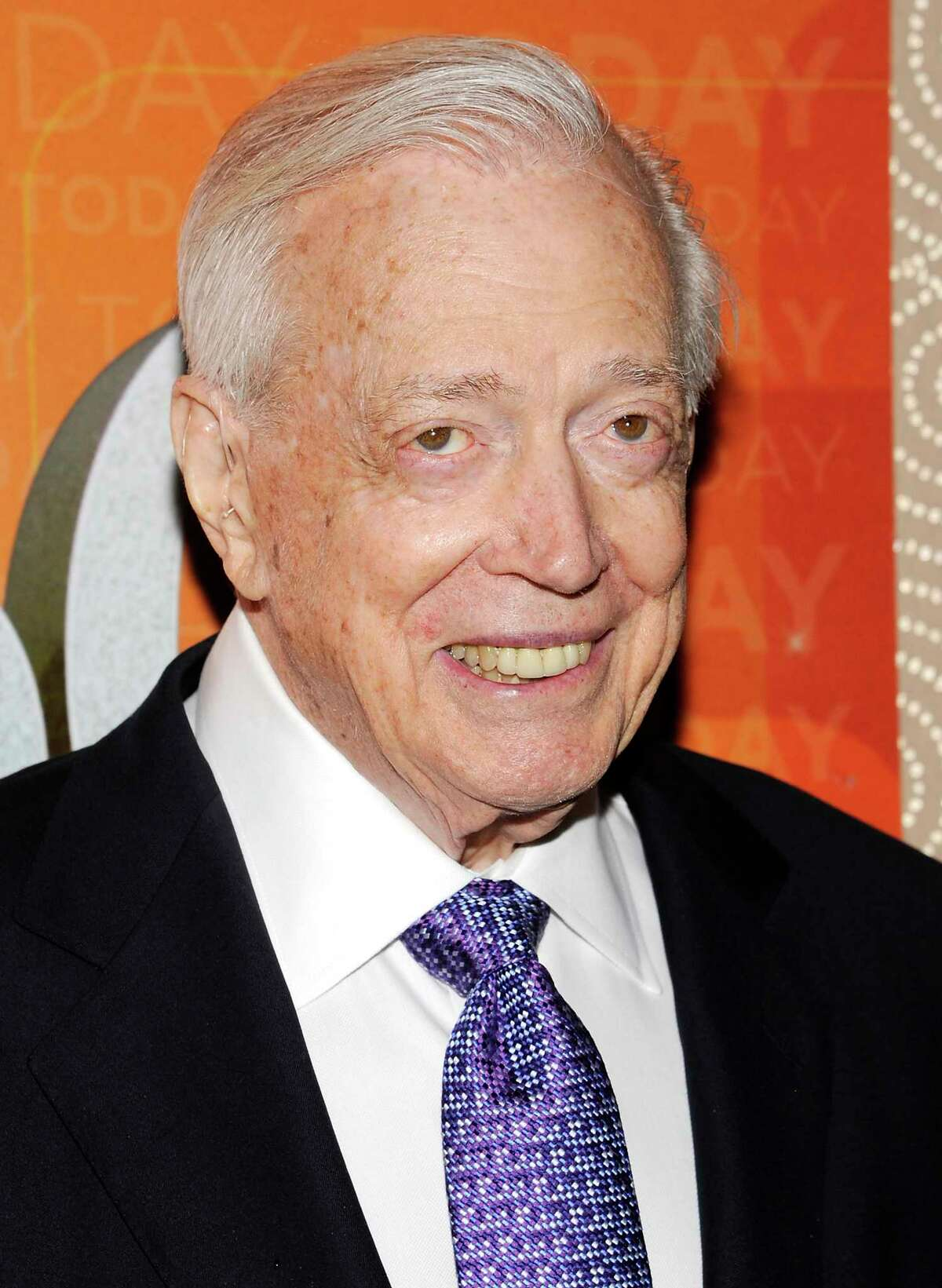 FILE - This Jan. 12, 2012 file photo shows Hugh Downs at the
