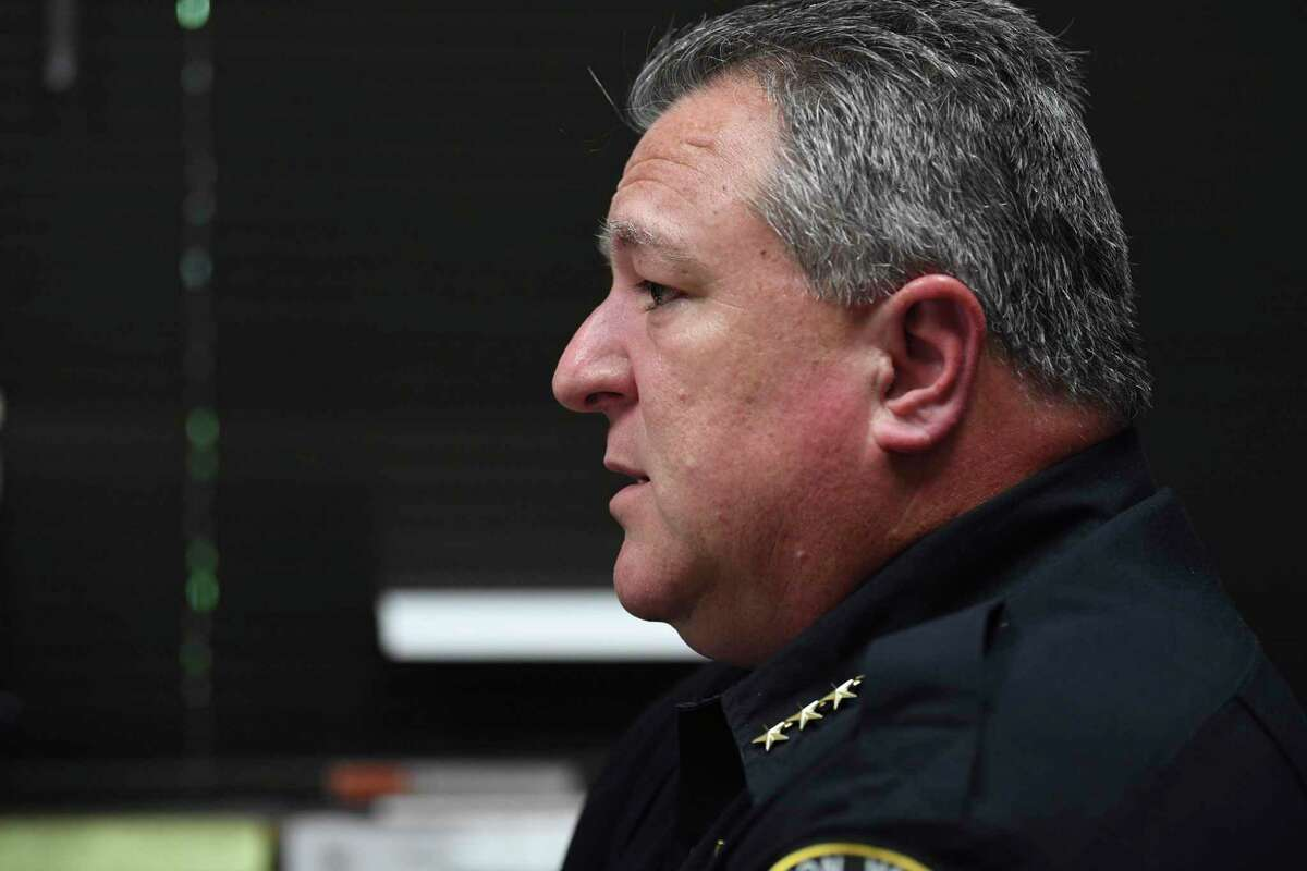 Leon Valley Police Chief Joe Salvaggio once worked for the San Antonio Police Department. He has hired several officers as reserves after they were fired by San Antonio Police Chief William McManus. One officer who appealed his firing won his job back and returned to SAPD.