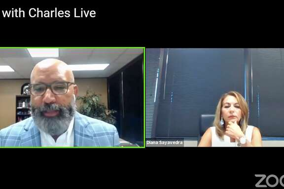 Fort Bend ISD superintendent Charles Dupre (left) and deputy superintendentDiana Sayavedraoutlined plans for the 2020 school year as currently planned in an online chat Wednesday (July 1).