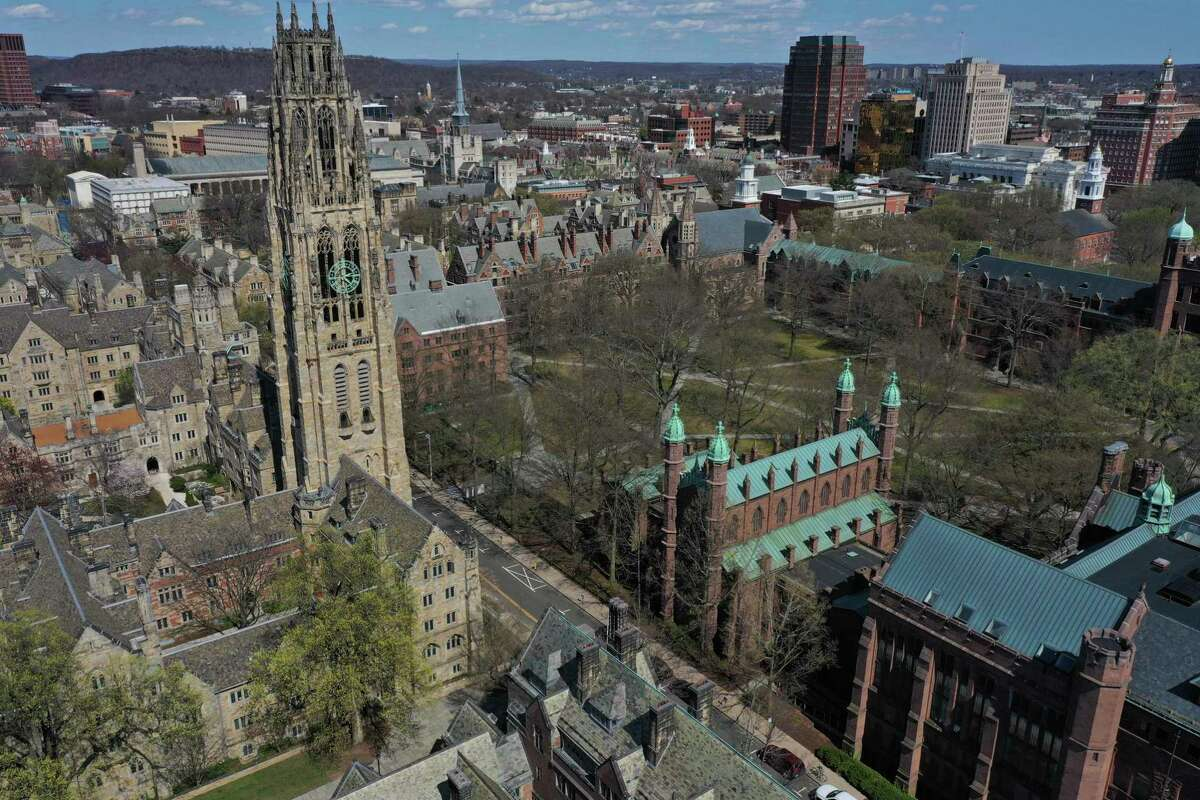 Yale University in New Haven.