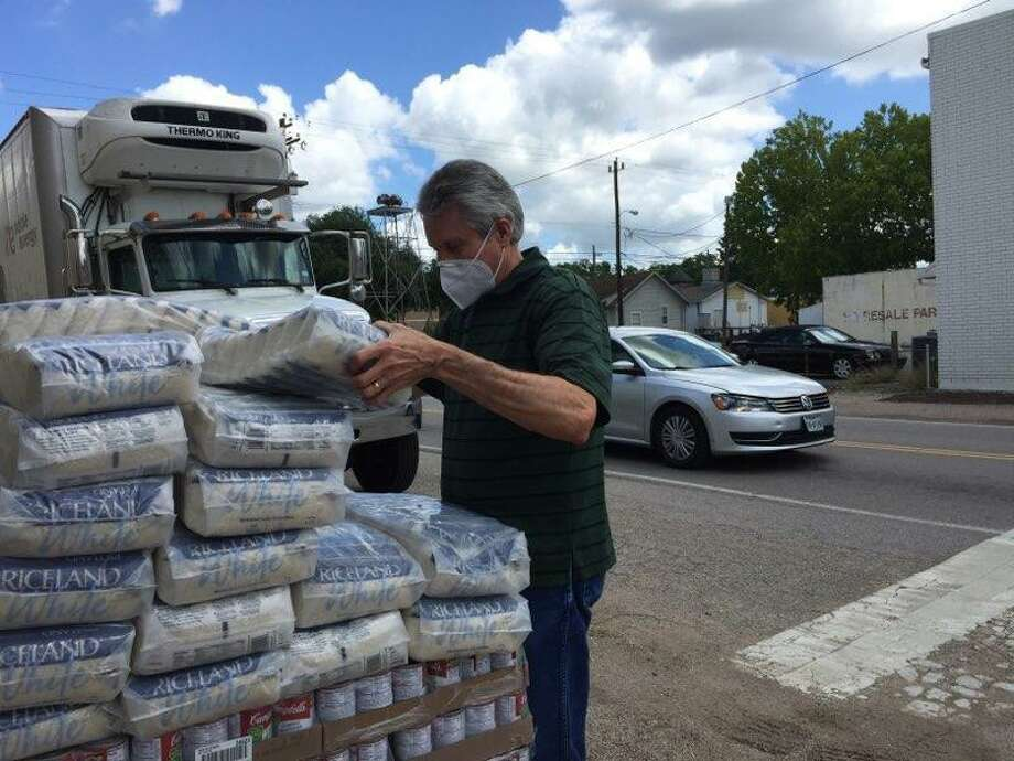 Tomball Emergency Assistance Ministries receives food pantry donations during the COVID-19 pandemic. Photo: Courtesy Of Tomball Emergency Assistance Ministries / Submitted