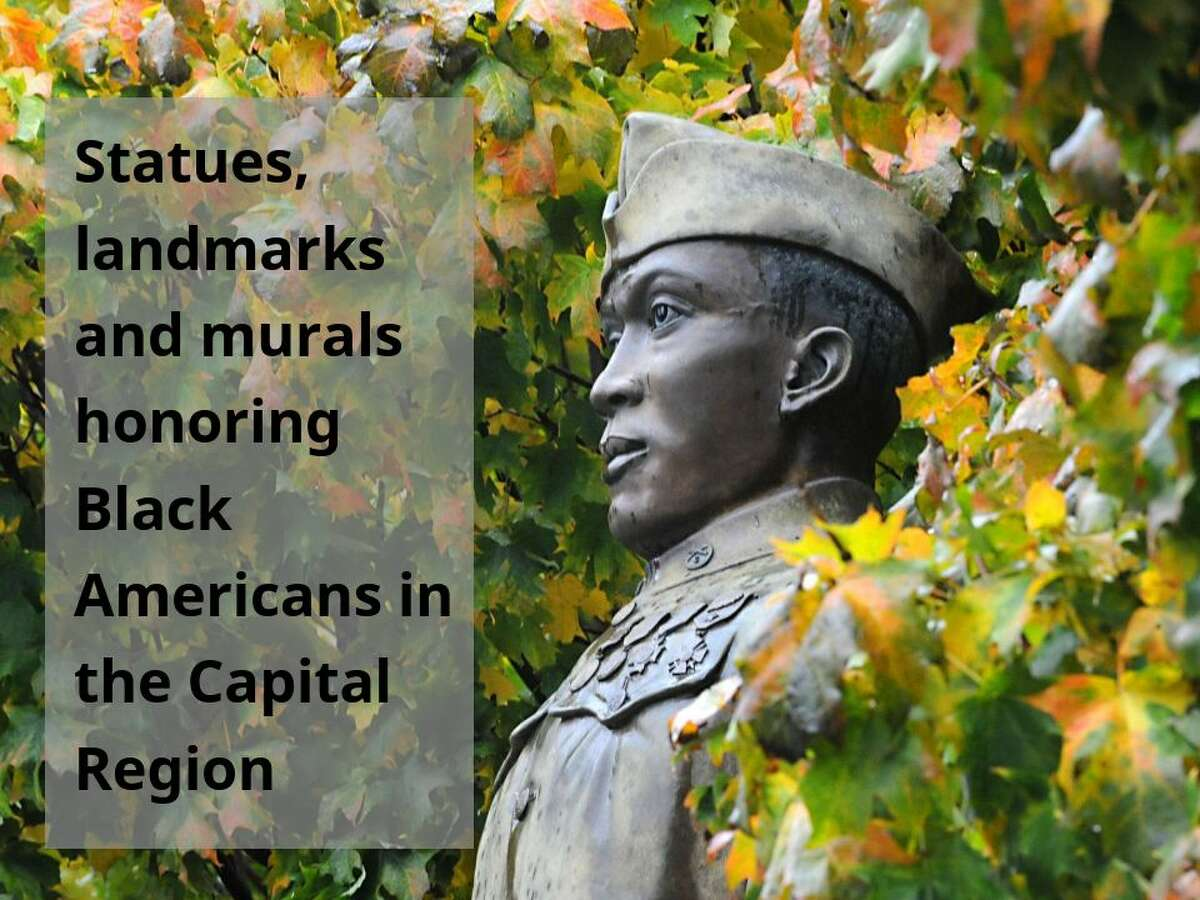 Scroll through the photos to see statues, landmarks and murals honoring Black Americans in and around Albany. Submit a landmark: Let us know about a historical monument that should be on the list by filling out this form at https://bit.ly/CapitalRegionStatues, or contact us at submit@timesunion.com or by text message at 518-250-9866.