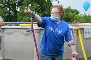 Cheyenne Lindsey, 15, was one of the first people the local Make-A-Wish chapter granted a wish for since the early days of the pandemic.