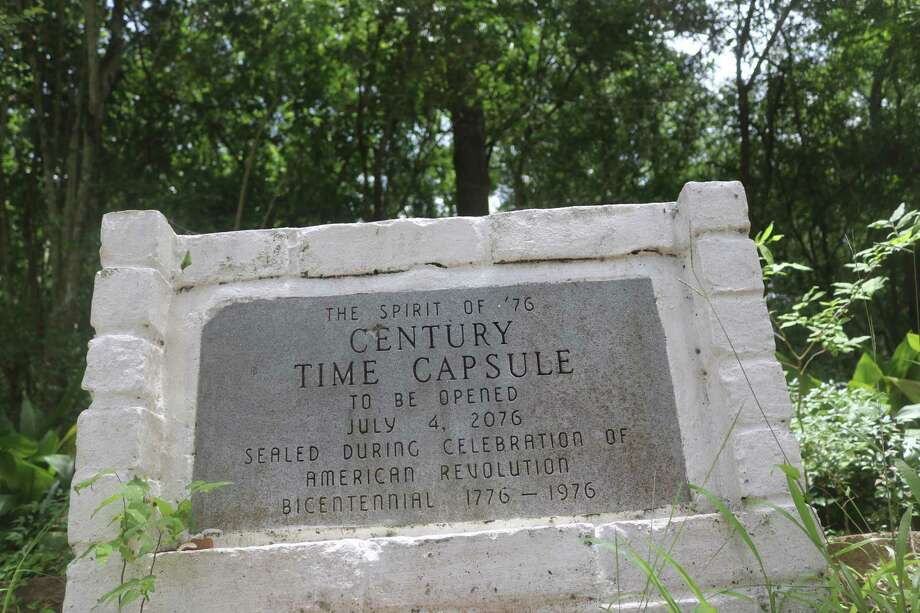 What items could be stored inside the city's time capsule? We'll know on July 4, 2076 Photo: Robert Avery