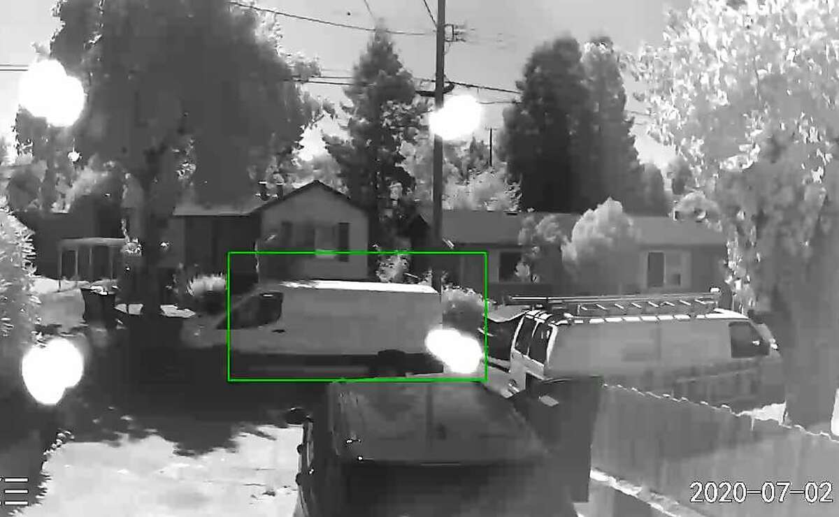California Highway Patrol released the image of this van suspected of striking a 7-year-old boy Thursday afternoon in Martinez.