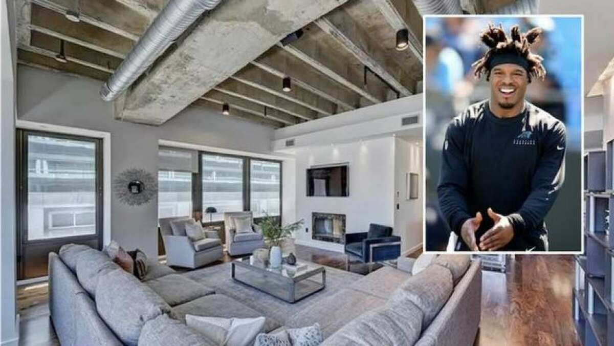 After being cut loose in North Carolina, former Panthers quarterback Cam Newton has listed his luxe condo in Charlotte, NC, for $2.9 million. The three-bedroom, 3.5 bathroom unit offers 3,335 square feet of luxury living space. It takes up half the fifth floor of a building known as The Trust-a location that the listing details call