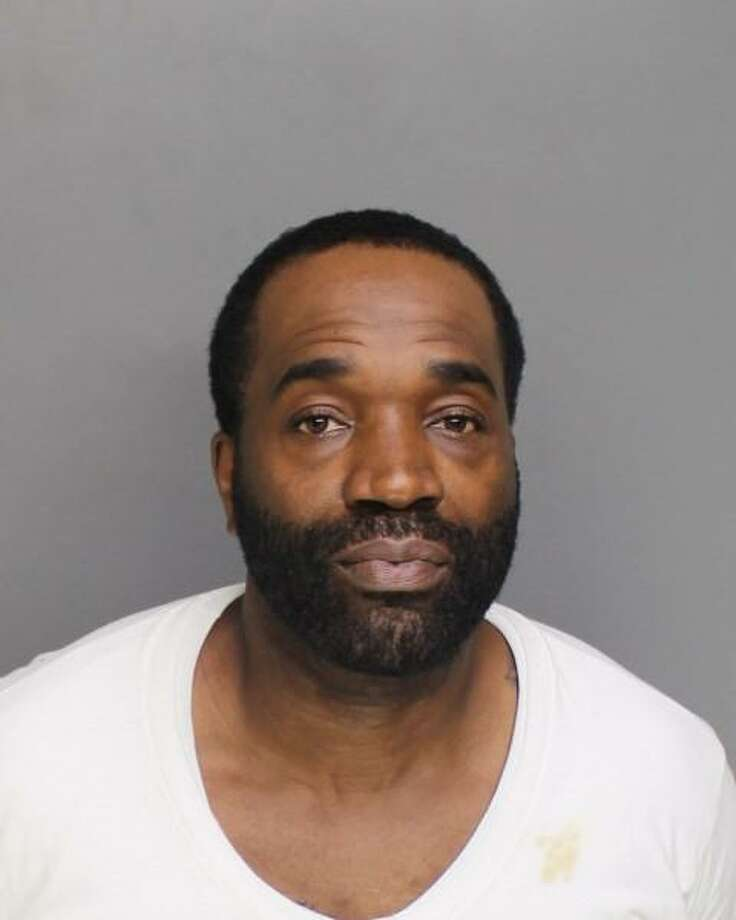 Eric Brown, 46, is charged with felony murder in the 1993 killing of Theodore 'Teddy' Edwards. Photo: Courtesy Of Bridgeport Police Department /