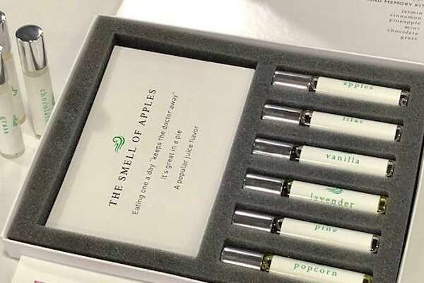 A kit of bottled scents developed by a Greenwich entrepreneur is being used to recover the loss of smell.