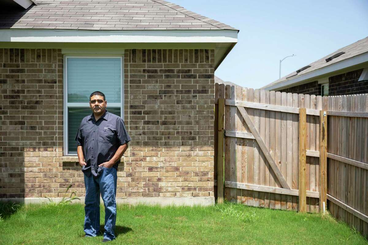 Jesse DeLuna said the nonprofit Operation Homefront 'took away a lot of our anxiety,' by helping pay their monthly bills after he and his wife, Lilly, lost their jobs when the pandemic started.