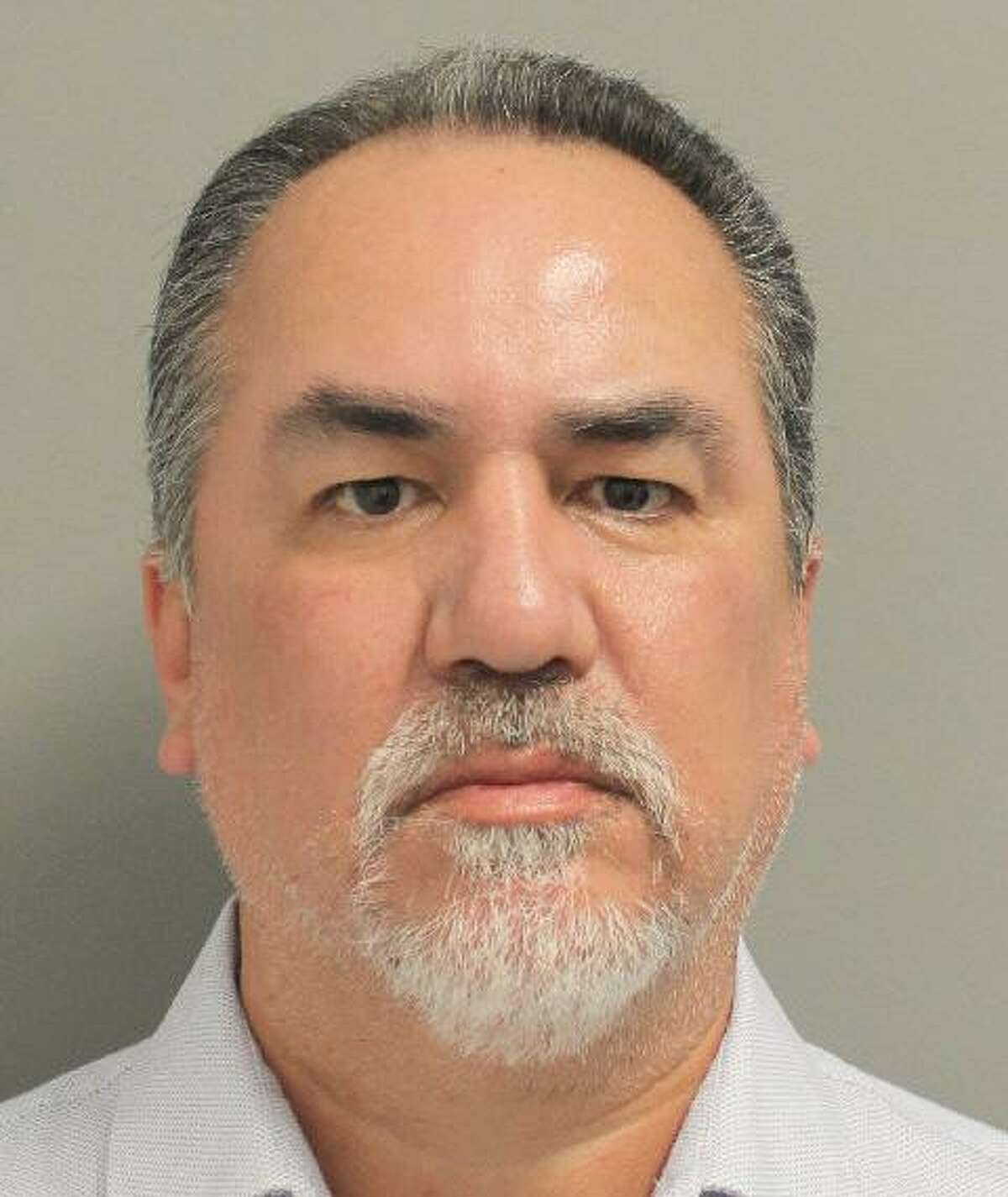 Mugshot of Clemente Reyna, one of four additional former Houston Police narcotics officers Kim Ogg charged with crimes stemming from an investigation into the deadly 2019 drug raid at 7815 Harding street that killed two homeowners.