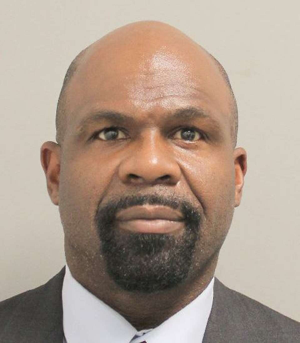 Mugshot of Hodgie Armstrong, one of four additional former Houston Police narcotics officers Kim Ogg charged with crimes stemming from an investigation into the deadly 2019 drug raid at 7815 Harding street that killed two homeowners.
