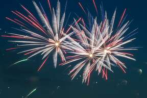 The city of Caseville delighted onlookers with its annual fireworks show July 3.