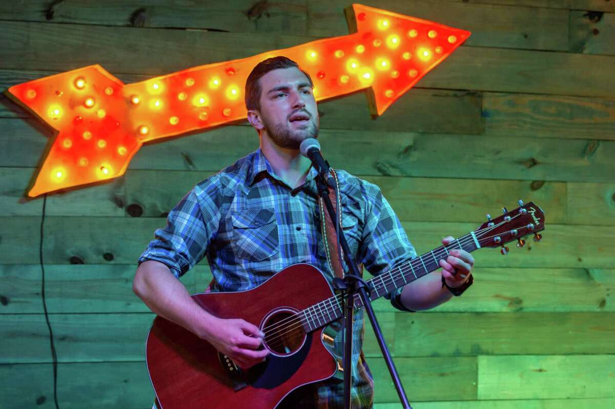 Casey Chestnut performs at Madison's on Dowlen Road in Beaumont on June 23, 2020. Fran Ruchalski/The Enterprise