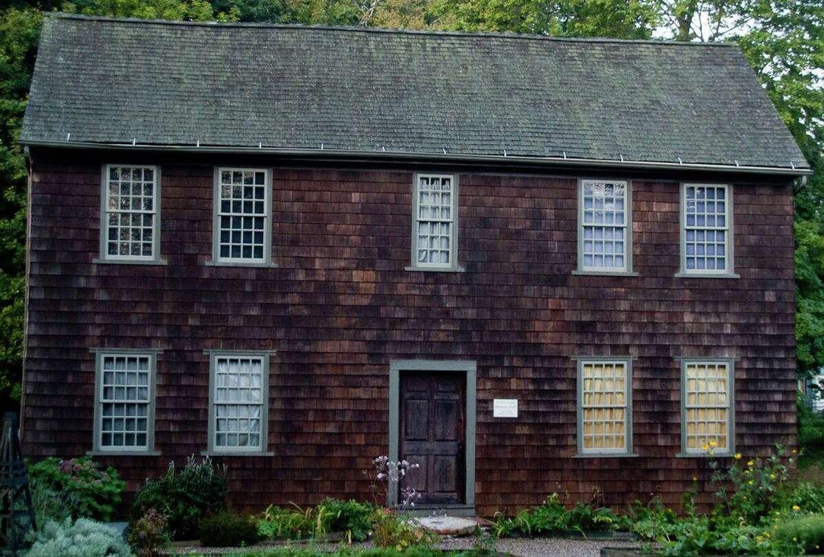 The Clark-Stockade House (circa 1780) in Milford