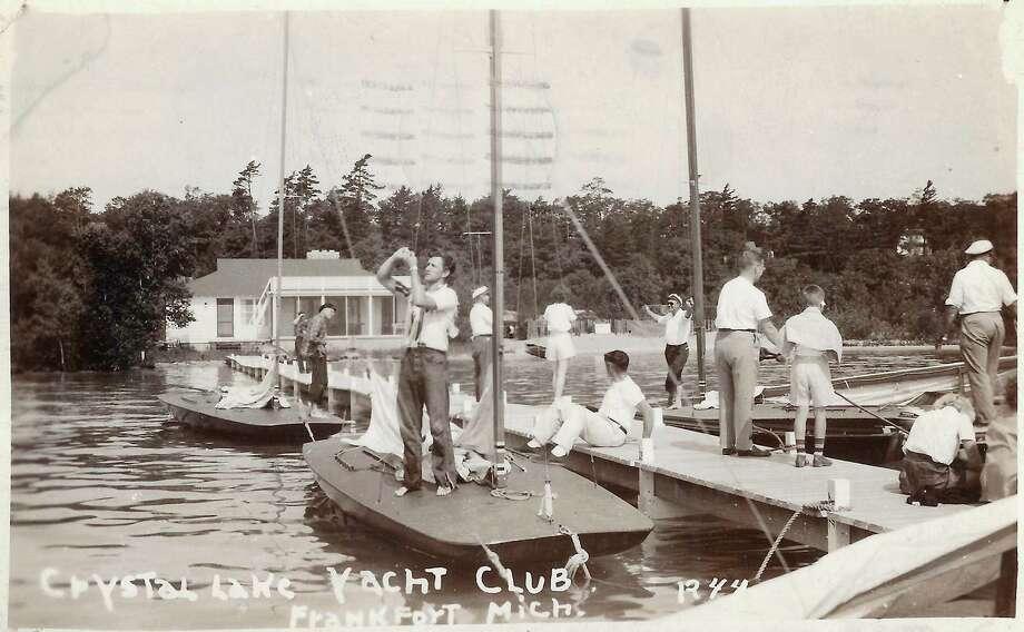 Crystal Lake Yacht Club, 1942. (Courtesy Photo)
