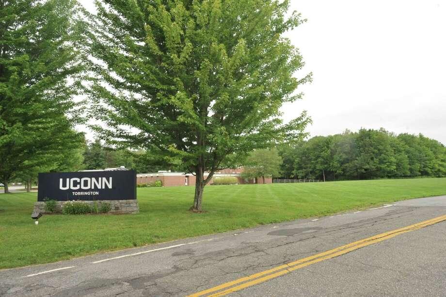 The former UConn Torrington campus on University Drive. Photo: Ben Lambert / Hearst Connecticut Media /