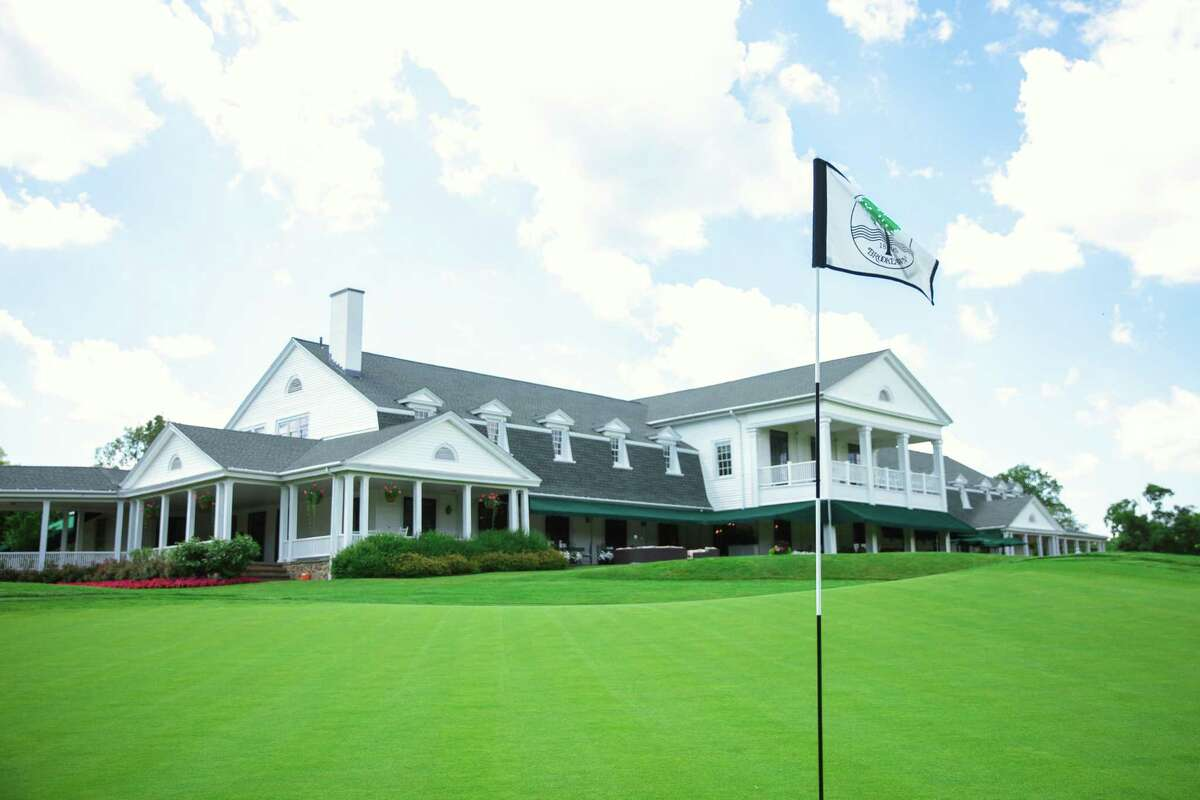 The clubhouse at Brooklawn Country Club in Fairfield.