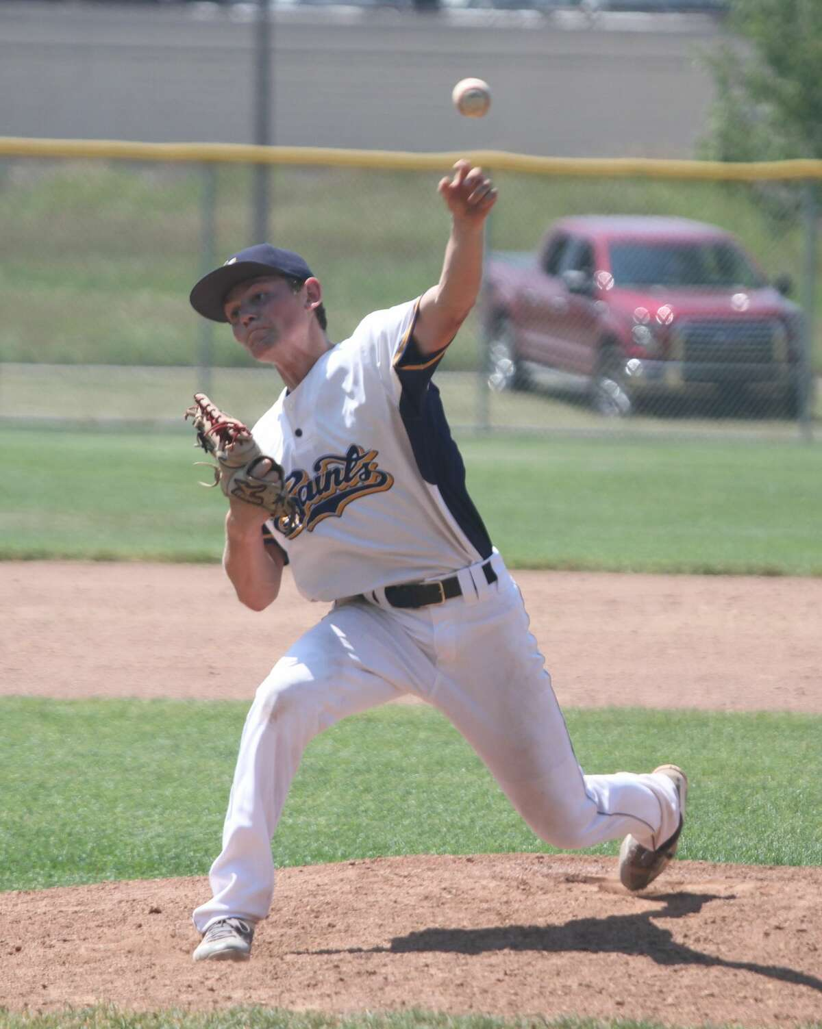 The Manistee Saints hosted the Northern Michigan Dogmen at Rietz Park on Saturday.