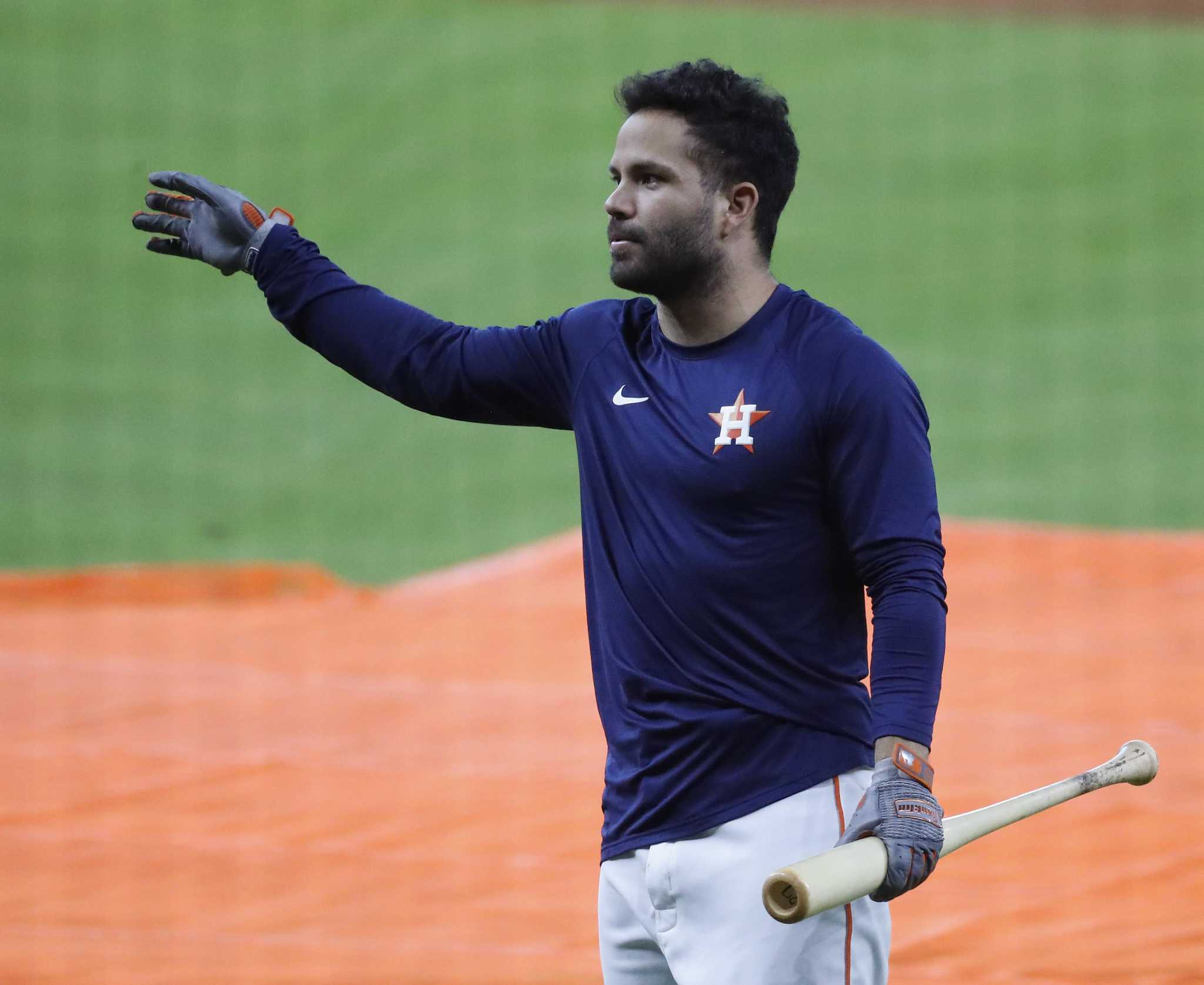 For Houston Astros' Jose Altuve, return to field wasn't a given