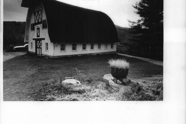 Steepletop, Edna St. Vincent Millay artist's colony, Austerlitz, the barn where the artists and writers work. Nov. 10, 1988 (Skip Dickstein/Times Union Archive)