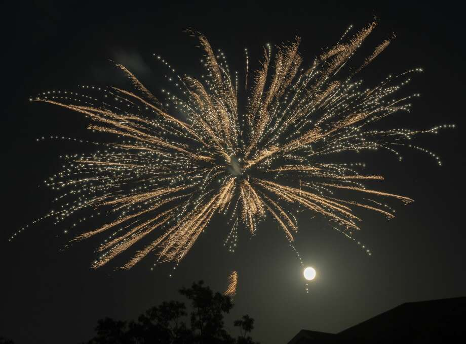 As the city of Midland did not have a fireworks display 07/04/2020, citizens of Midland County put on their own fireworks shows to celebrate the Fourth of July. Tim Fischer/Reporter-Telegram Photo: Tim Fischer/Midland Reporter-Telegram