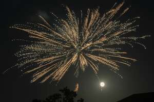 As the city of Midland did not have a fireworks display 07/04/2020, citizens of Midland County put on their own fireworks shows to celebrate the Fourth of July. Tim Fischer/Reporter-Telegram