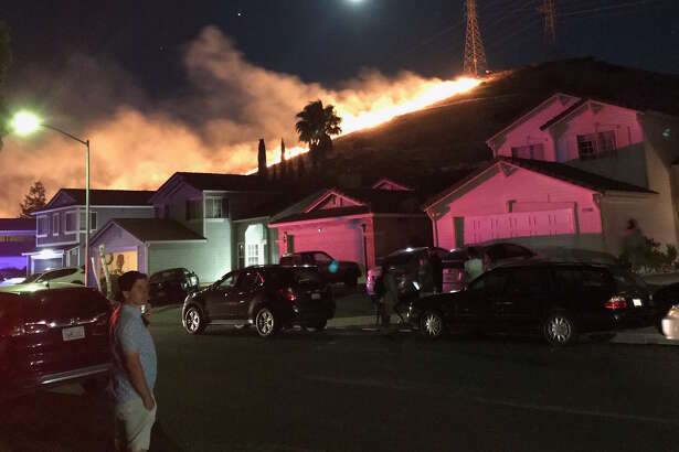 Dozens of fires broke out in Contra Costa County on the evening of July 4, 2020, including the Southwood/Oak Hills fire in Pittsburg.
