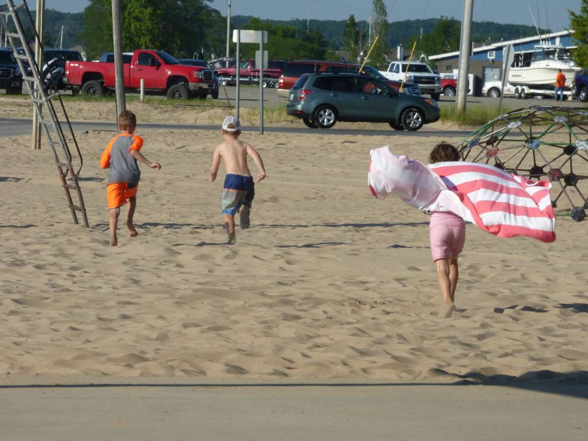 With many local events canceled during Fourth of July weekend due to the coronavirus pandemic, residents and vacationers looked to create their own Fourth of July festivities, whether on the beach, at a concert or self-isolated at home. (Scott Fraley/News Advocate)