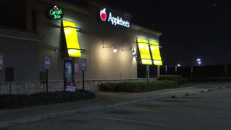 The woman and her co-workers at an Applebee's off E Sam Houston Parkway in east Houston were preparing to celebrate Fourth of July when the accident happened. Photo: Onscene.tv