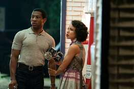 "Jonathan Majors and Jurnee Smollett in HBO's ""Lovecraft Country"""